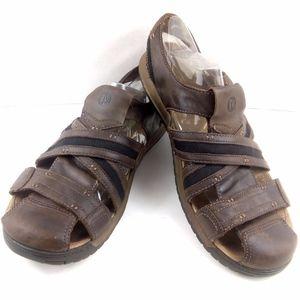 Merrell Boulder Leather Fisher Traveler Sandals 12